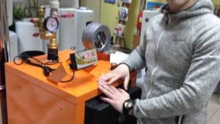 Видео обзор твердотопливного котла длительного горения Донтерм ДТМ