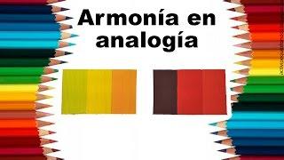 """Teoría del color Cap. 11 """"Armonía en analogía"""""""