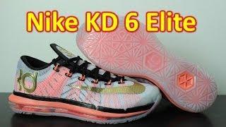 Nike KD 6 Elite White/Metallic Gold