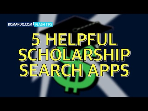 Five Helpful Scholarship Search Apps No Student Should Be Without