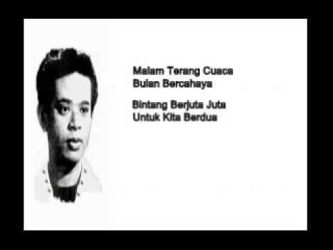 R Azmi .... Cahaya Bulan Di Air Tenang (  With Lyrics ).