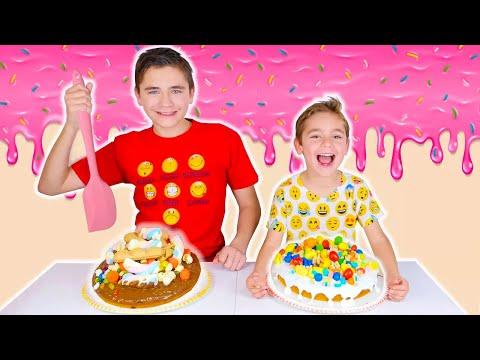 CAKE CHALLENGE !!! - Swan VS Néo