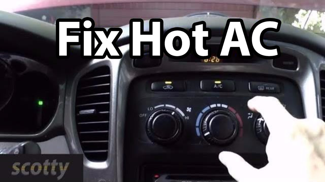 Fixing Hot Ac Cheaply  Scotty Kilmer  S8 E35