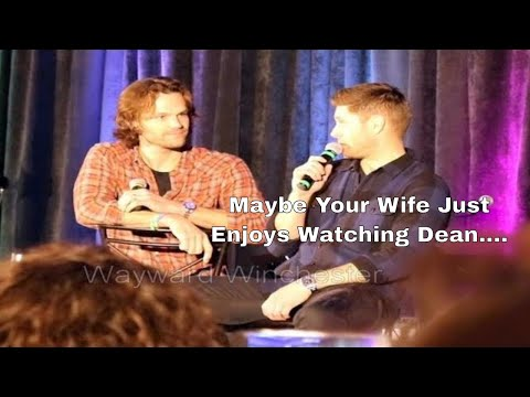 Jensen Ackles Jokes About Jared's Wife Liking Dean But Jared BURNS Him With Holy Fire! ORLCON 2018