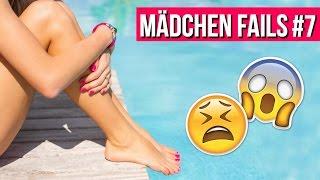 SCHLIMMSTER TAMPON UNFALL IM SCHWIMMBAD! 😱 // Mädchen Fails #7 | LaurenCocoXO