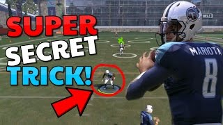 BRAND NEW SECRET TIP/GLITCH TO PASS THIS BOSS LEVEL!! Madden 17 Gauntlet