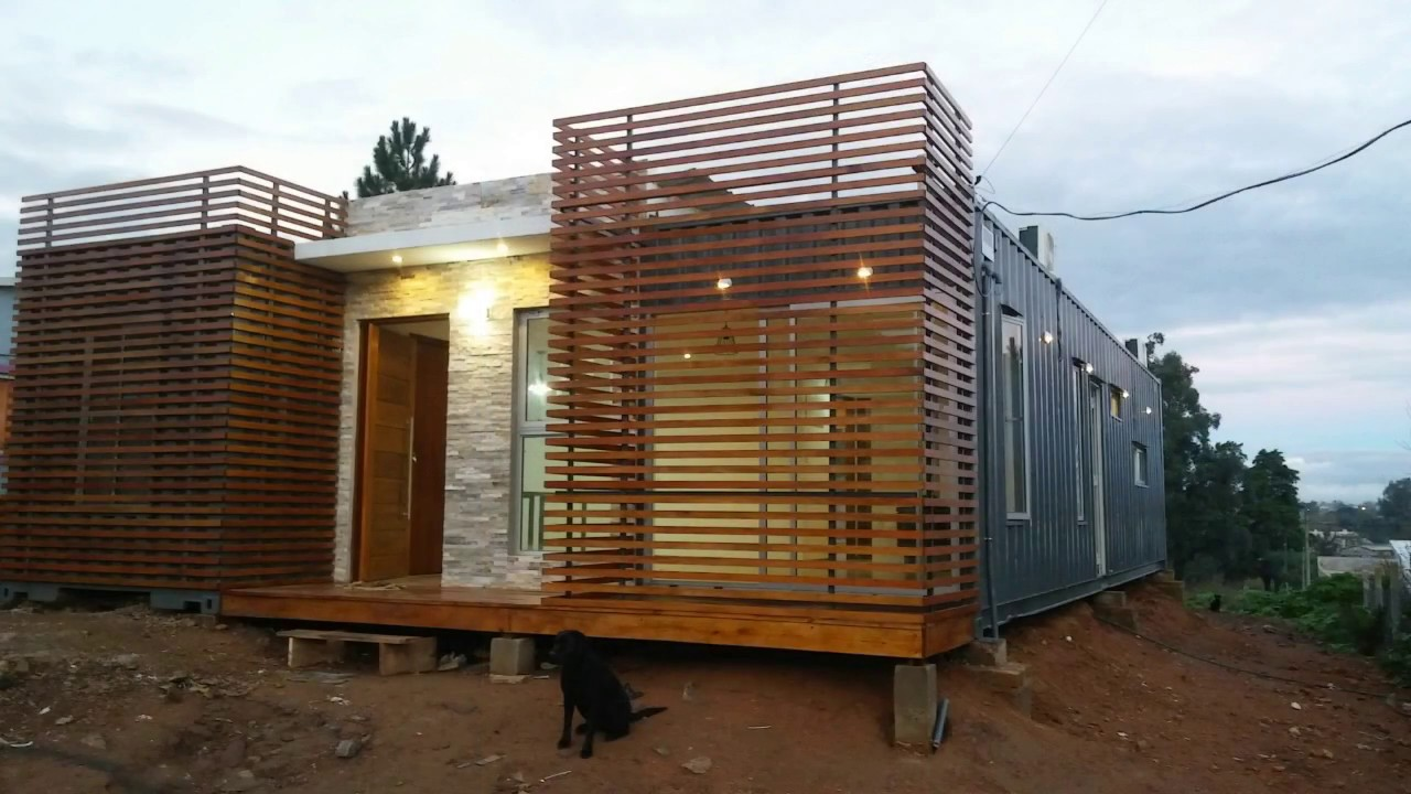 Casa container uruguay youtube for Casa in container