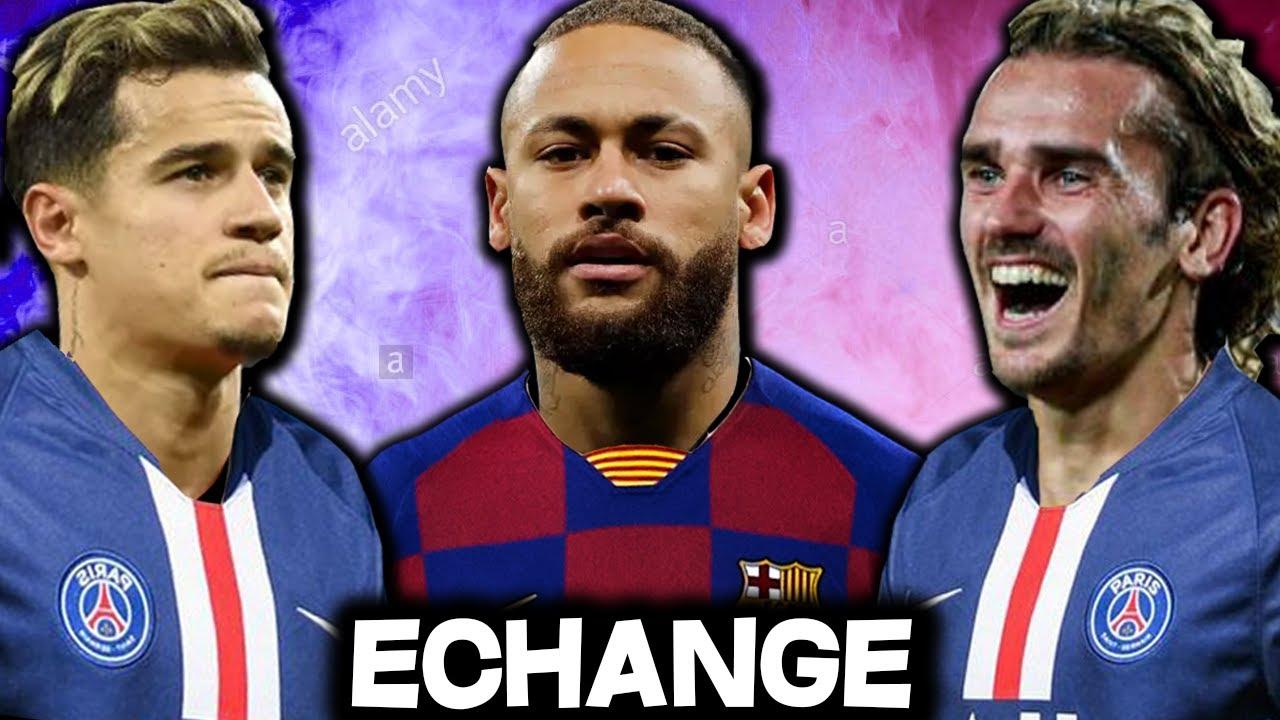Faut-il vendre Neymar au barça contre Griezmann et Coutinho ?