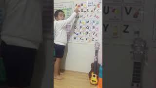 알파벳 영어공부 했어요~^^