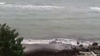 Havet viser taender