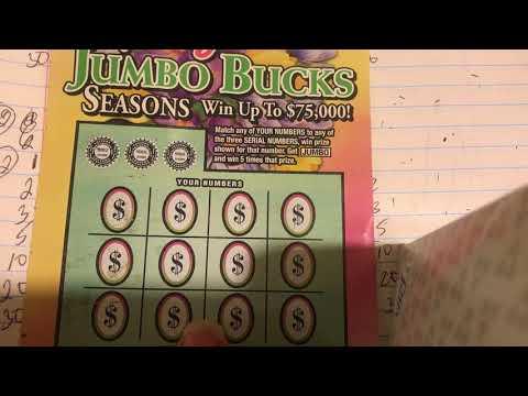 $3 Tuesday Jumbo Bingo Scratch TN