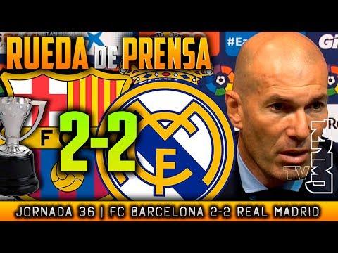 Rueda de prensa de Zidane (06/05/2018)