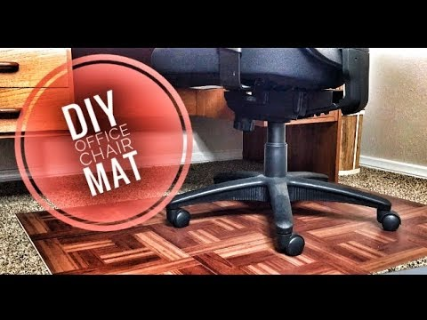 diy wood chair mat reclining movie theater office for under 25 youtube