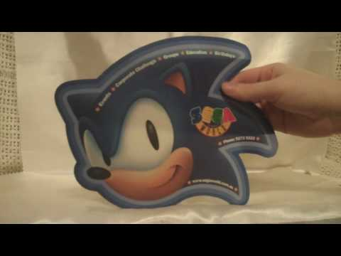 SEGA World Sydney Sonic Mouse Pad  [Sonic Collectible Reviews]