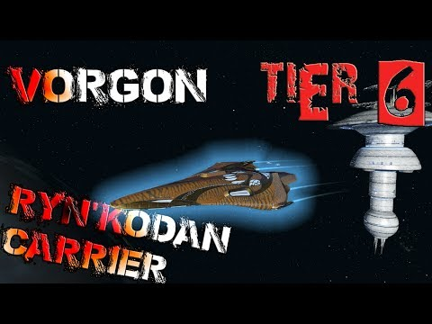 Vorgon Ryn'kodan Carrier [T6] – with all ship visuals - Star Trek Online