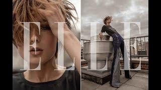 eLLE UKRAINE // Яна Кутишевская Топ Модель по-украински (Backstage / Нью Йорк) - Next Top Model UA