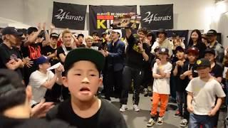 AURA vs Baby StreetBeast   YGB7×THE KRUMPIRE JAPAN QUALIFIER ULTIMATE FINAL   2019.04.20