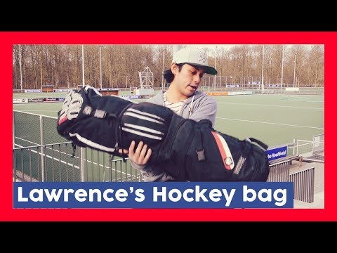 What's In Lawrence's Hockey Bag - Lawrence Hockeyvlog #5 | HockeyheroesTV