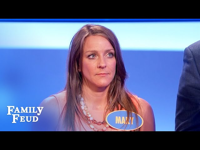 BYE! I'm leaving you... and I'm taking THIS! | Family Feud
