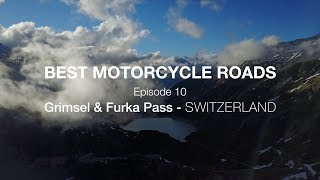BEST MOTORCYCLE ROADS Ep. 10 Switzerland