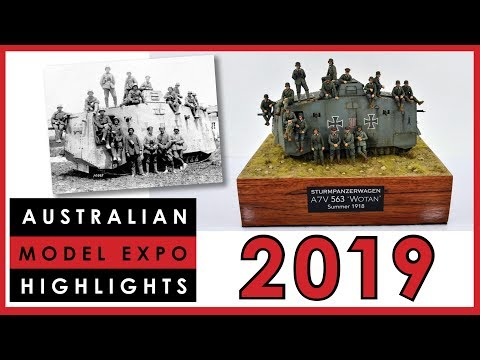 Highlights Of The Australian Model Expo 2019 Scale Model Competition