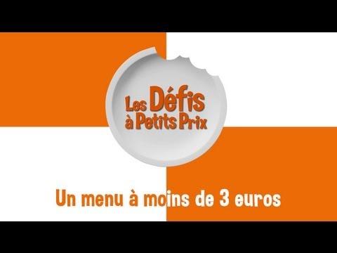 Défis à petits prix: un menu pour le bureau à moins de 3 euros