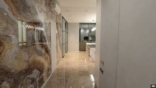 Обзор квартиры 118м2 в ЖК RiverStone. Ремонт квартир Киев.