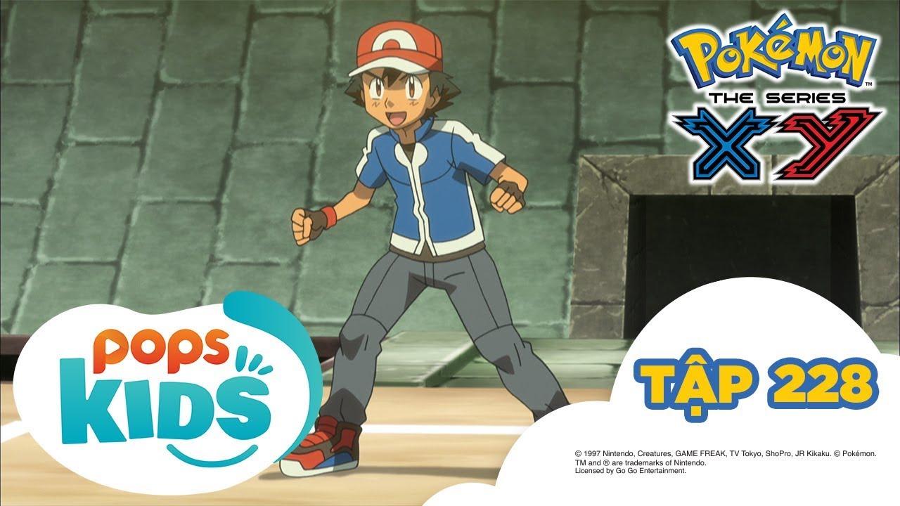 Pokémon Tập 228 – Tòa Tháp Chuyên Gia! Lịch Sử Tiến Hóa Mega  – Hoạt Hình Tiếng Việt Pokémon S17 XY