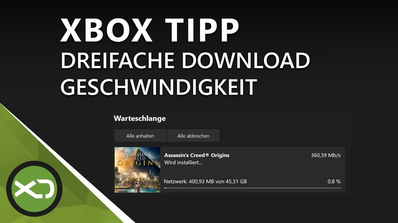 xbox one slow download fix