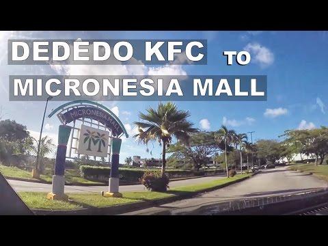 GUAM - KFC Dededo to Micronesia Mall.  Drive Guam #23