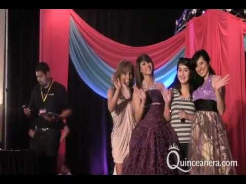 Quinceañera.com Expo and Fashion Show 2011 in Anaheim