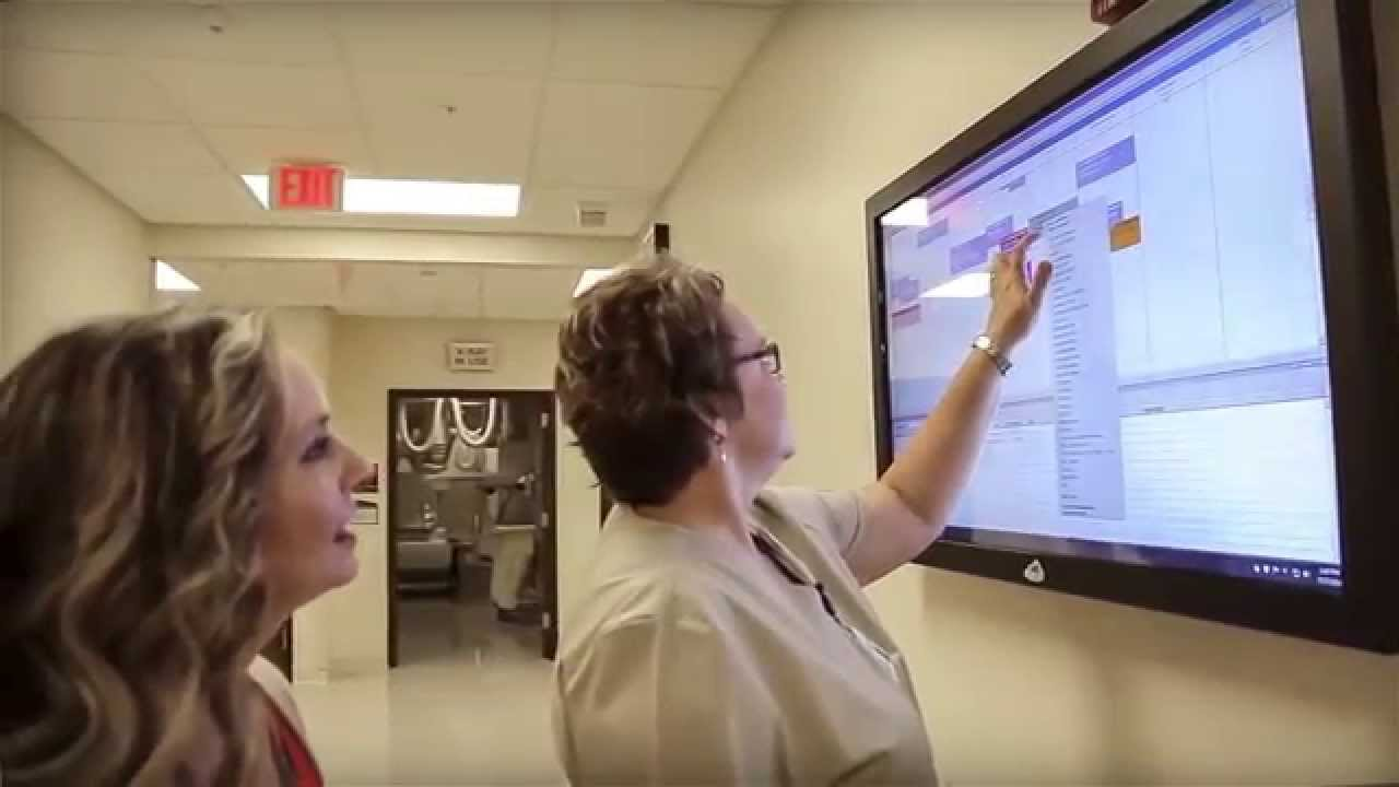 The Electronic Whiteboard 174 Improves Patient Care At Tj