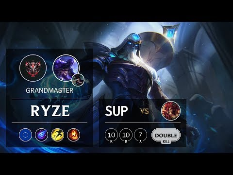 Ryze Support vs Zyra - EUNE Grandmaster Patch 9.24