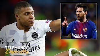 Mbappé admite que Messi le quitó el sueño y le manda un serio aviso | Telemundo Deportes