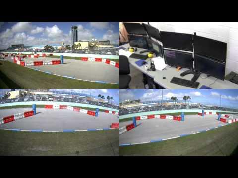 DARPA Robotics Challenge Trials - Blue Vehicle Day 2