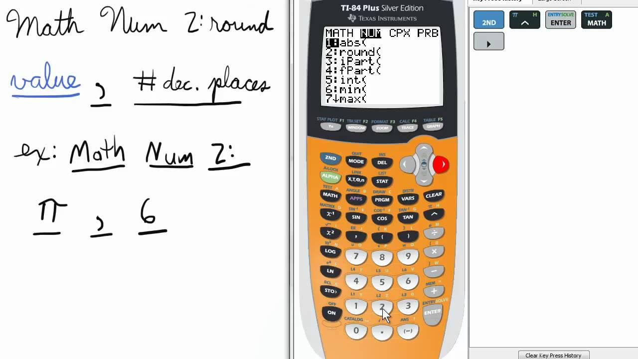 Rounding decimals.
