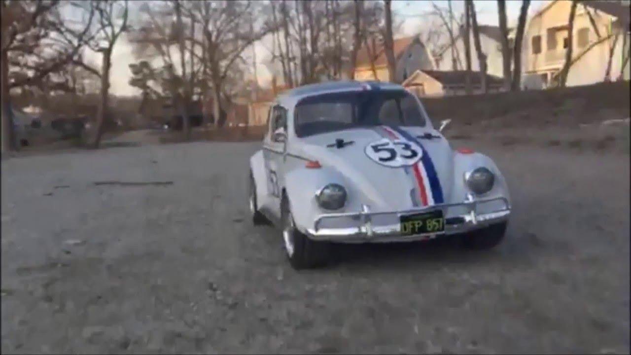 Vw Beetle Test >> 1:10 Tamiya R/C VW Herbie The Love Bug - YouTube