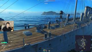 world of warships часть 2 продолжаю обучение