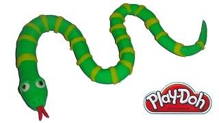 Play-Doh Cartoon-Schlange