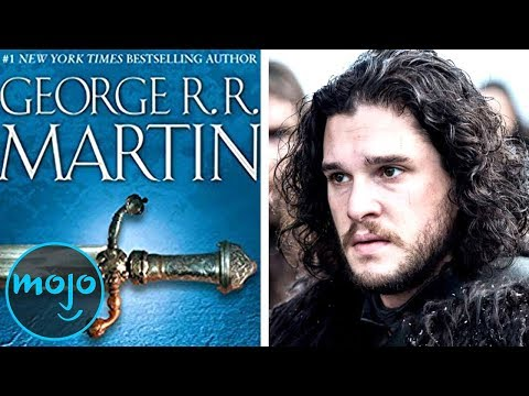 Top 10 Differences Between The Game of Thrones TV Series and Books