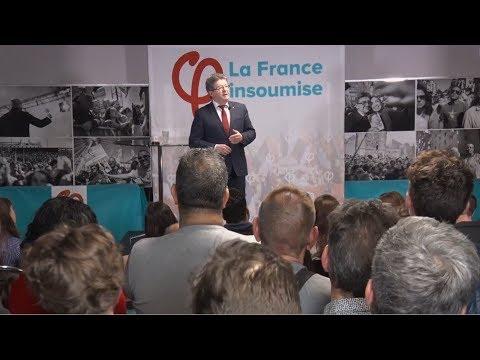 «LE LIBÉRALISME, C'EST MOINS DE LIBERTÉ» - Mélenchon - Voeux 2018 à Marseille
