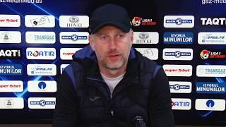 Edi Iordanescu dupa Gaz Hermannstadt 4-1   novatv.ro