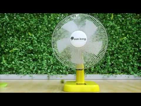 The all new #solar powered Sun King Fan is here!