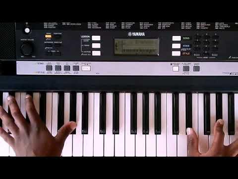 Ndikuthandile by vusi Nova (piano tutorial)