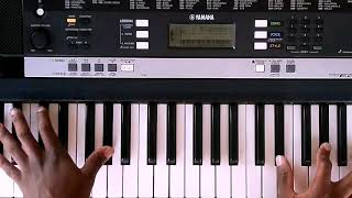 Gambar cover Ndikuthandile by vusi Nova (piano tutorial)