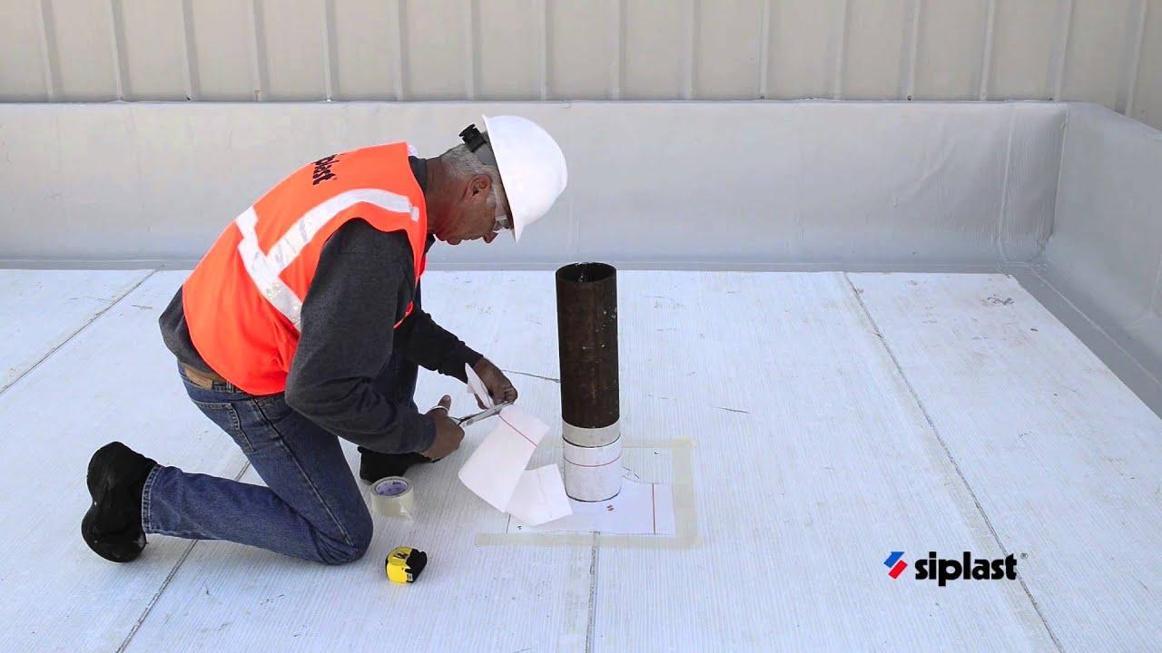 Siplast Parapro Roof Membrane Application Series Step 2