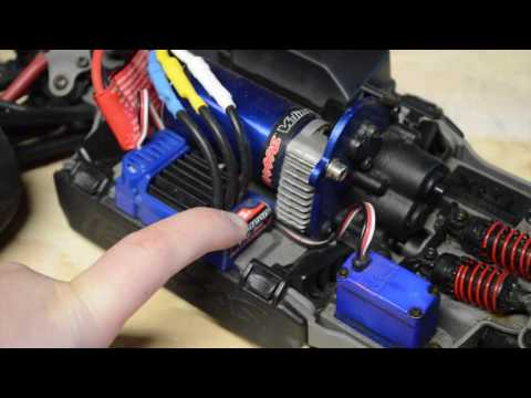 How to Program your Traxxas ESC Brushed or Brushless and lipo cut off