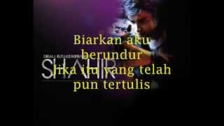Shahir - Dia Yang Kau Pilih Lirik (OST Menjinak Ombak)