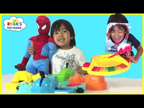 Thumbnail: Family Fun Games for Kids Compilation Hungry Hungry Hippos Doggie Doo Pie Face Don't Wake Daddy