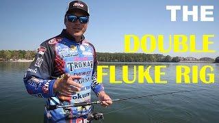 How Fish Double Fluke Rig